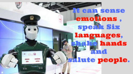 Robot Police Officer is now a reality