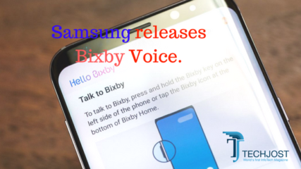 Samsung launched Bixby Voice Assistant