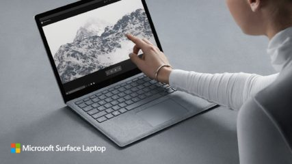 Microsoft Surface Laptop versus Apple MacBook Pro